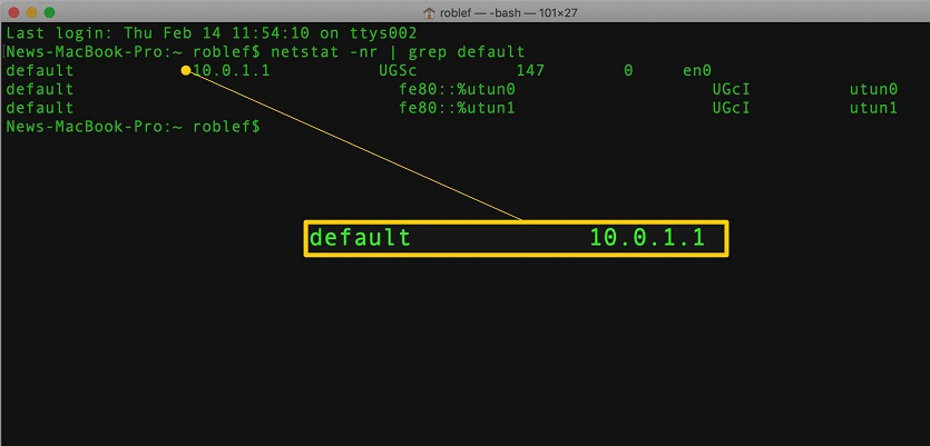 How to Find your Router's IP Address In Mac OS