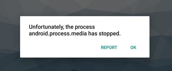 How to Fix Unfotunately, the process Android.Process.Media Has Stopped Error